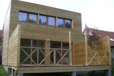 Une maison en bois Ecologique !